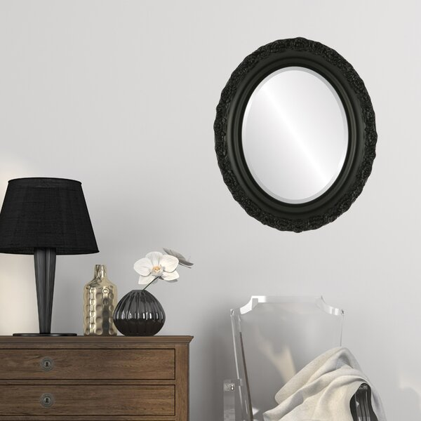 Winegar Framed Oval Accent Mirror by House of Hampton