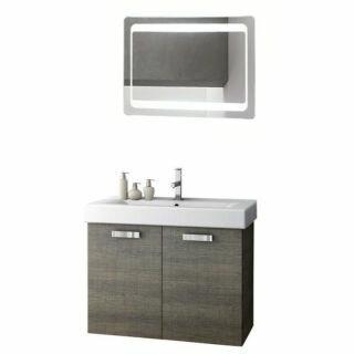 Cubical 30 Single Bathroom Vanity Set with Mirror