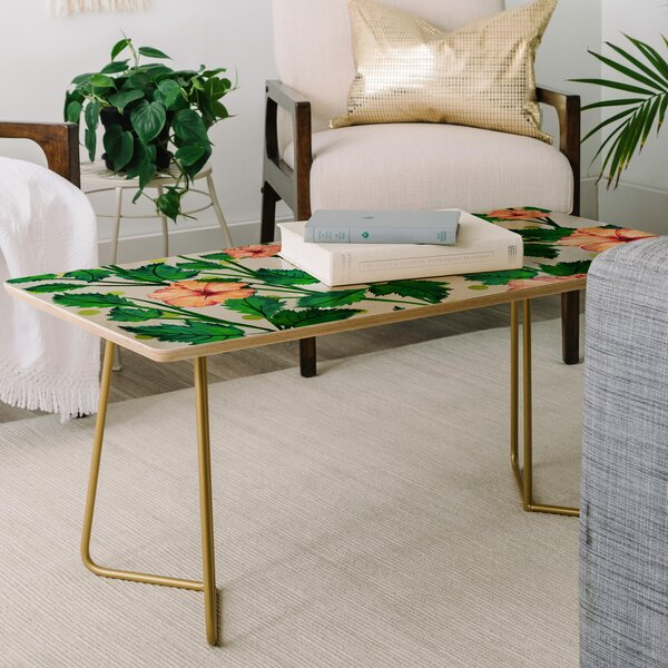 83 Oranges Blossom Coffee Table by East Urban Home