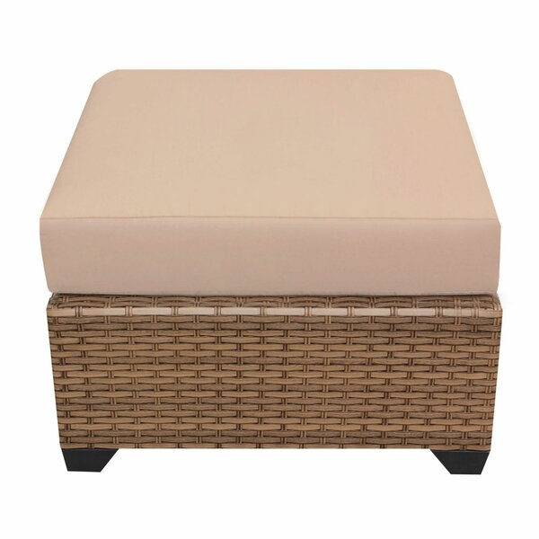 East Village Ottoman with Cushion by Rosecliff Heights