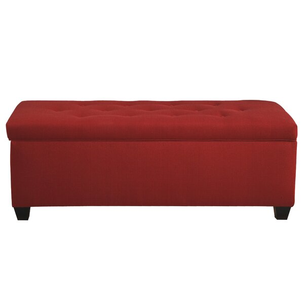 Laleia Button Tufted Upholstered Storage Bench By Alcott Hill