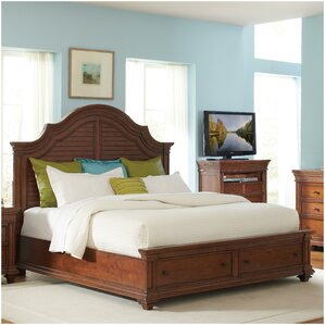 Leander Storage Panel Configurable Bedroom Set by World Menagerie
