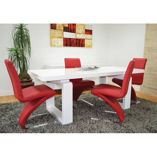 Janet Dining Table by Orren Ellis Orren Ellis