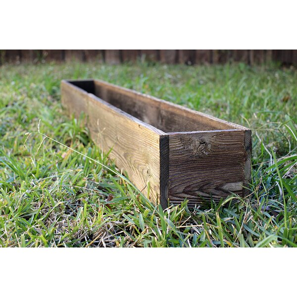 Fogel Wood Planter Box by Loon Peak
