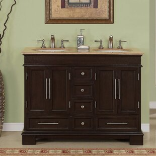 Check Prices Mcmiller 48 Double Bathroom Vanity Set ByThree Posts