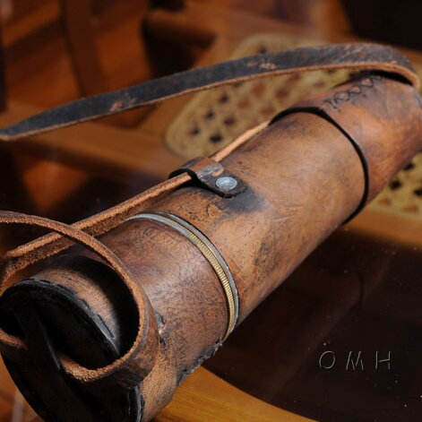 Handheld Decorative Telescope by Old Modern Handicrafts