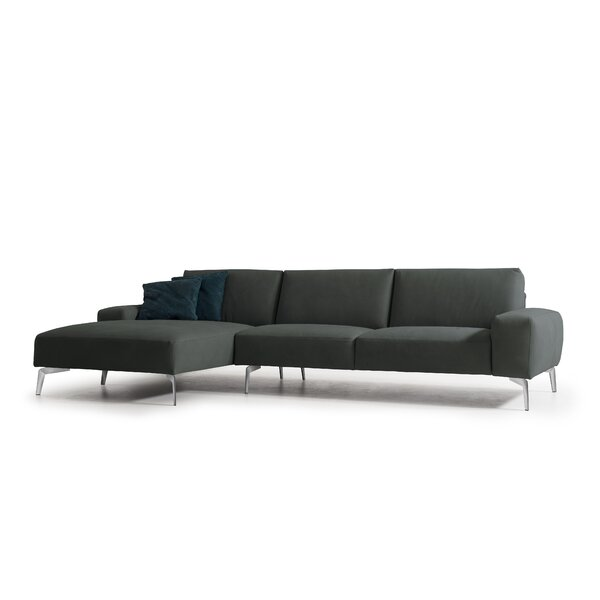 Review Funon Leather Sectional