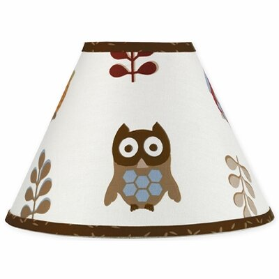 Night Owl 10 Cotton Empire Lamp Shade by Sweet Jojo Designs
