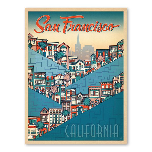 San Francisco Hills Holly Carden Vintage Advertisement by East Urban Home