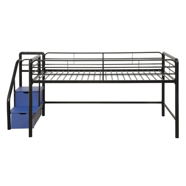Bewley Junior Twin Loft Bed with Storage by Zoomie Kids