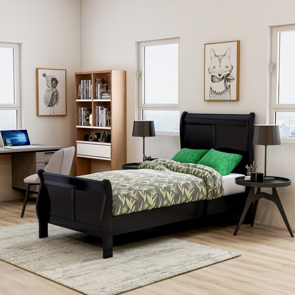 Elyse Twin Sleigh Bed by Red Barrel Studio