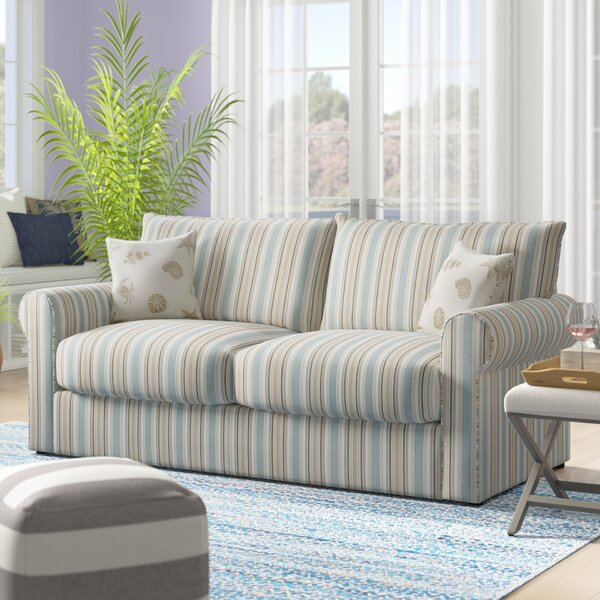 Coldfield Cotton Rolled Arms Sofa Bed By Highland Dunes
