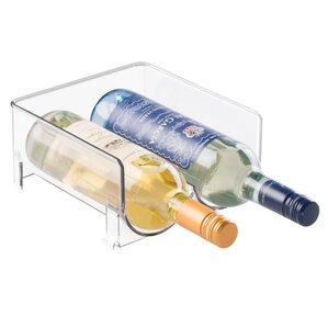 Stackable 2 Bottle Tabletop Wine Rack by InterDesign