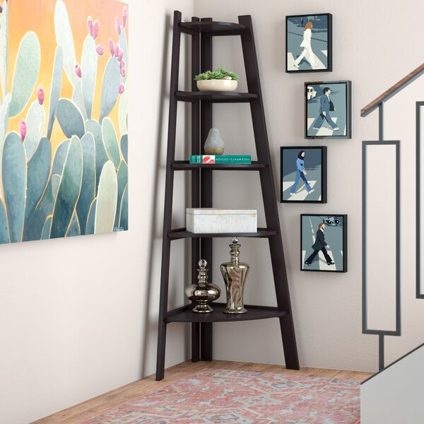 Tisha Corner Unit Bookcase by Zipcode Design