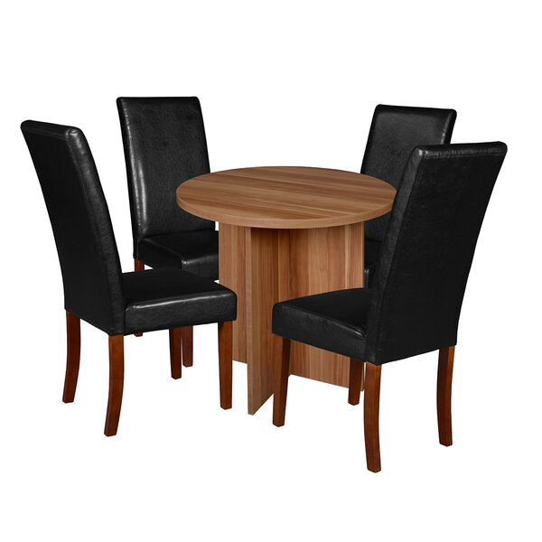 Niche 5 Piece Breakfast Nook Dining Set by Regency