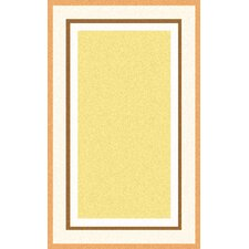 Young Life Hand-Tufted Yellow Area Rug