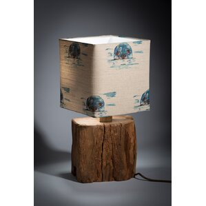 oak beam 4445cm table lamp