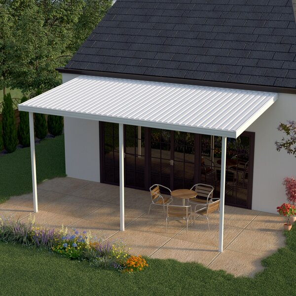 16ft. W x 8ft. D Patio Awning by Heritage Patios