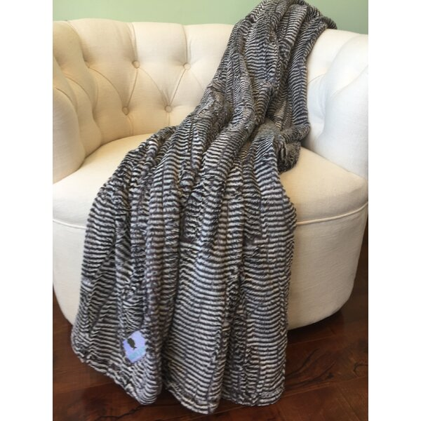 Winsome Luxe Throw by Harriet Bee