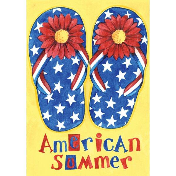 American Summer Garden flag by Toland Home Garden