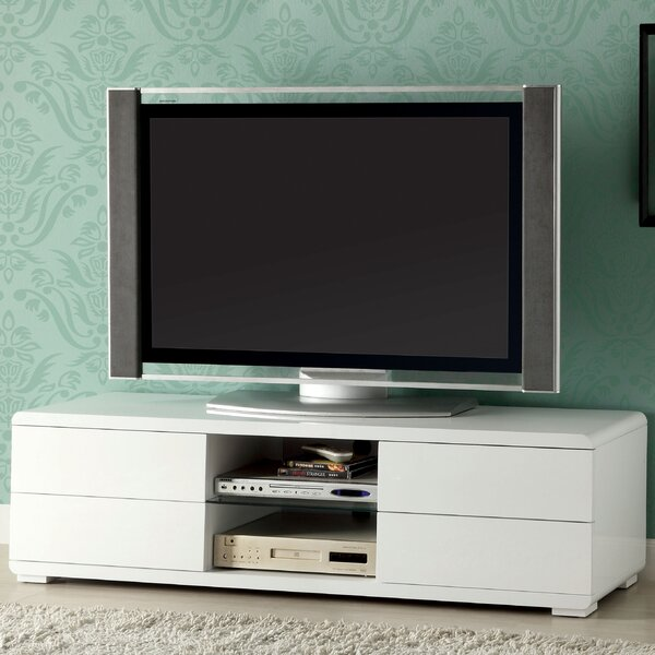 Sherra Solid Wood TV Stand for TVs up to 65