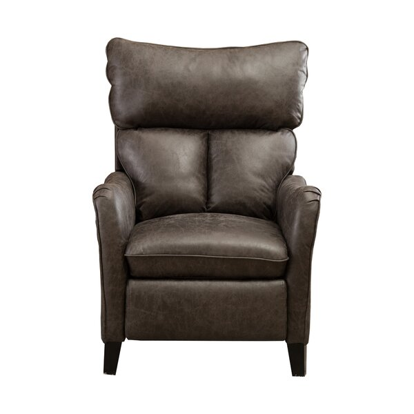 Gualtier Faux Leather Manual Recliner W003445372