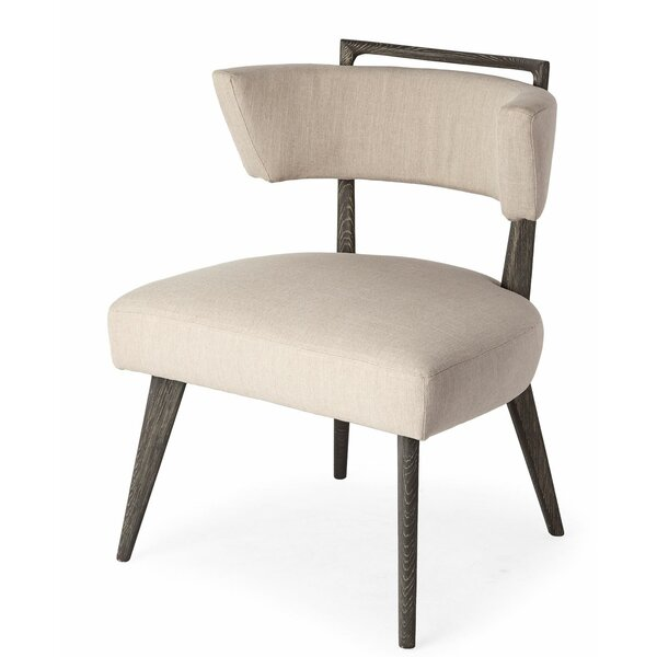 Carrollton Upholstered Dining Chair by Everly Quinn