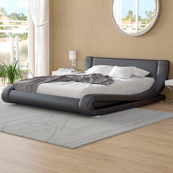 Leavitt Upholstered Platform Bed by Wade Logan