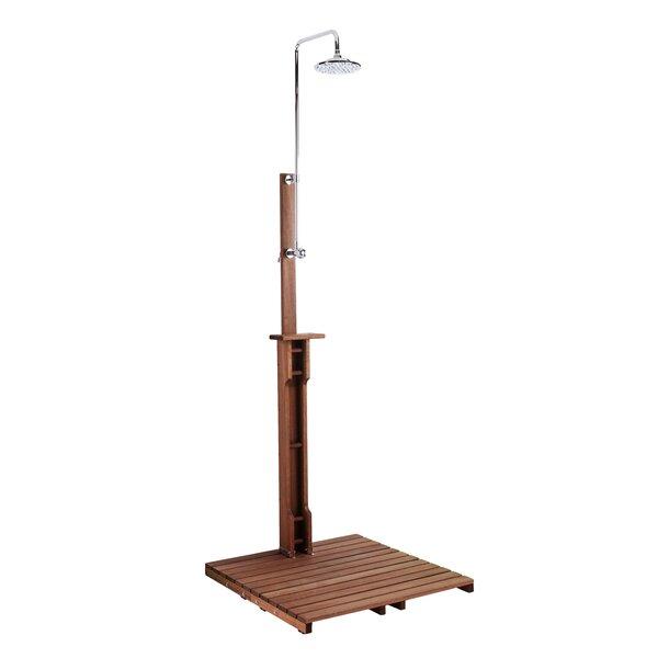 Noah Freestanding Outdoor Shower by Wildon Home ®