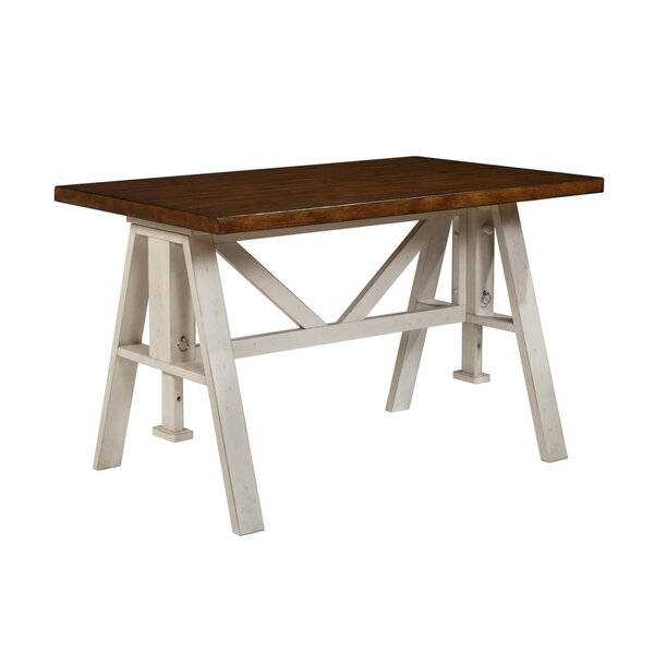 Pescadero Counter Height Solid Wood Dining Table By Gracie Oaks
