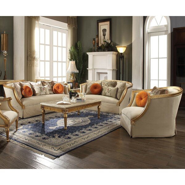 Neece 3 Piece Living Room Set by Astoria Grand