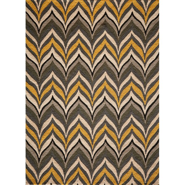 Willa Handmade Yellow Area Rug by Langley Street