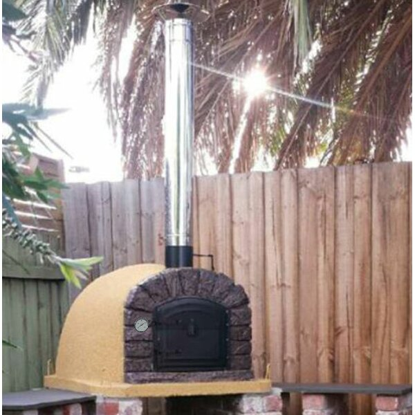Traditional Brick Famosi Wood Fire Oven by Authentic Pizza Ovens