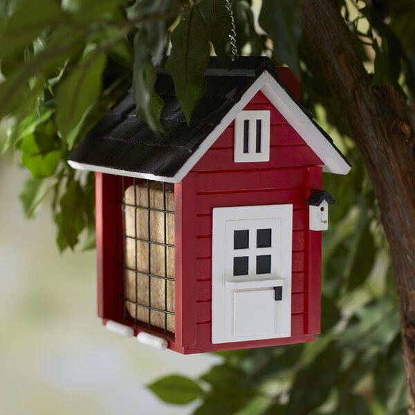 Nesting Series Barn Bird Feeder by Home Bazaar