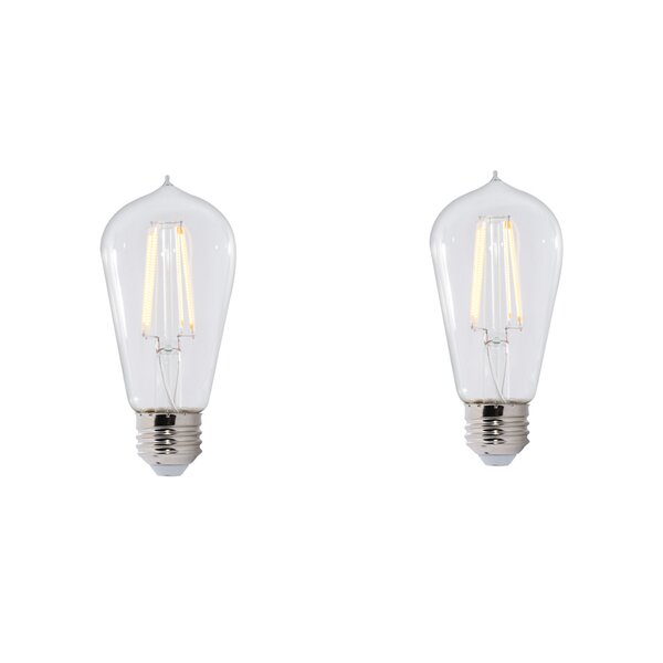 7W E26 Dimmable LED Light Bulb (Set of 2) by Bulbrite Industries