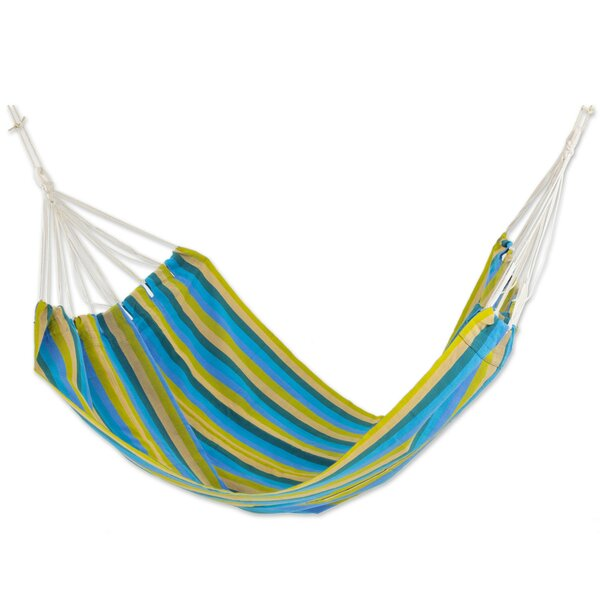 Hand-Woven Double Tree Hammock by Novica