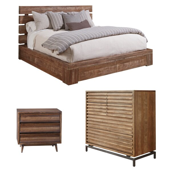 Nitta Platform Configurable Bedroom Set by Brayden Studio Brayden Studio