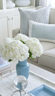 blue and white living rooms. Design  Frances Herrera Interiors How to Decorate a Blue and White Living Room Wayfair
