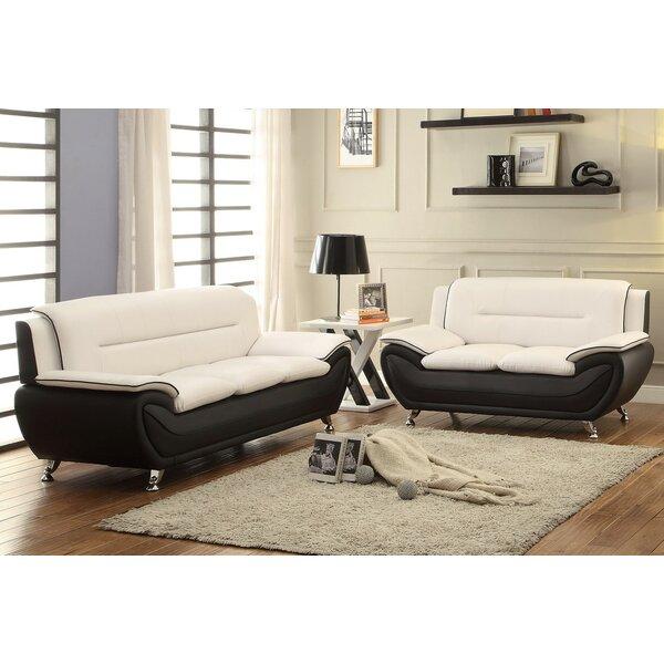 Jasmin 2 Piece Living Room Set by Orren Ellis Orren Ellis