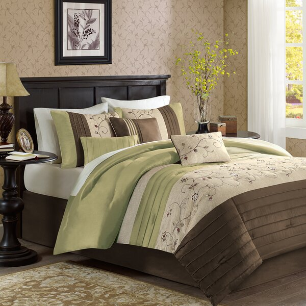 Brierwood 7 Piece Comforter Set by Darby Home Co