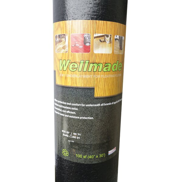 3 In 1 Underlayment Pad by Islander Flooring