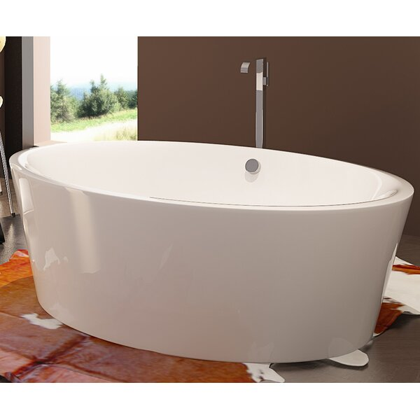 HelixBath Kition 67 x 43.25 Soaking Bathtub by Kardiel
