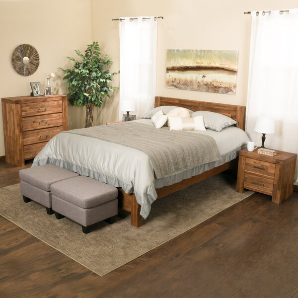 Montero Panel 4 Piece Bedroom Set by Home Loft Concepts
