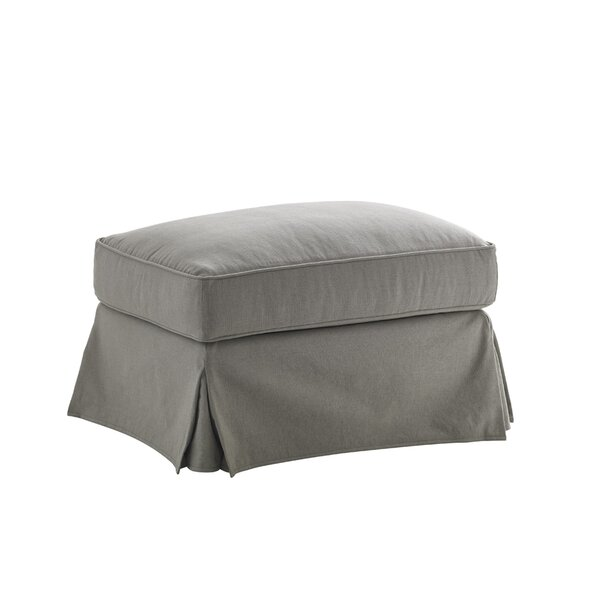 Oyster Bay Slipcover Ottoman by Lexington