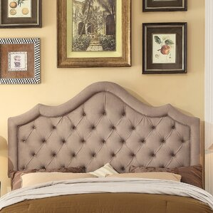Alisa Queen Upholstered Panel Headboard by Mulhouse Furniture