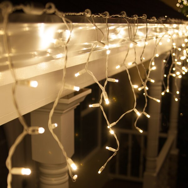 70 Light Christmas LED Icicle Lights by Wintergreen Lighting