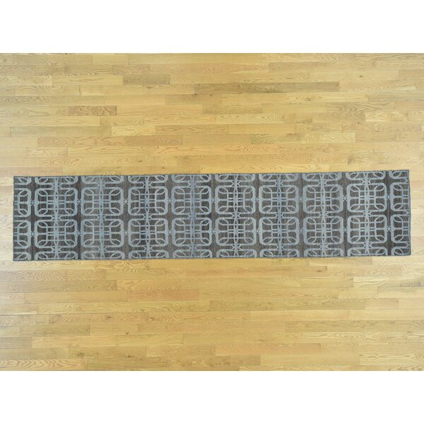 One-of-a-Kind Brain Handwoven Wool Area Rug by Isabelline