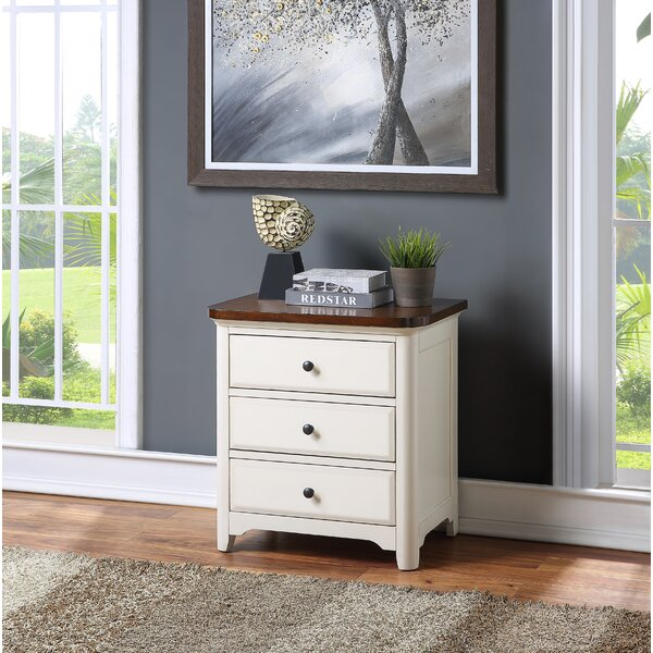 Candelario 3 Drawer Nightstand by Canora Grey