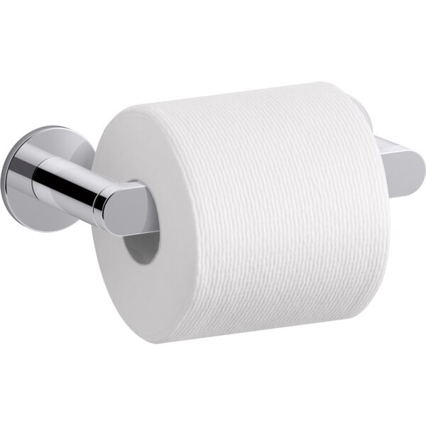 Composed® Pivoting Wall Mount Toilet Paper Holder by Kohler
