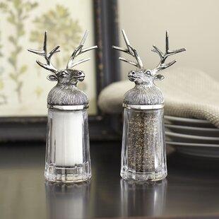 cheerful cool salt and pepper shakers. Reindeer Salt  Pepper Shakers Christmas and You ll Love Wayfair ca